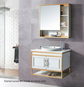 Wall Hung Wooden Wash Basin Cabinet