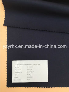 Finished Fabric Cotton / Polyester Fibre Twill Navy Blue pictures & photos