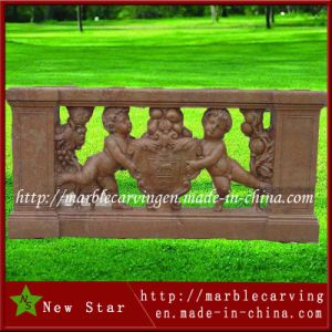 Modern Carved Beige Marble Balustrade for Gazebo pictures & photos