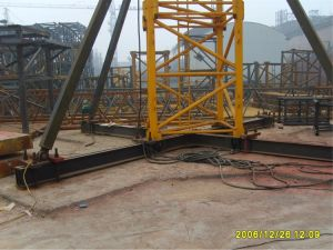 60m Jib Lenght Hydraulic 8t Tower Crane pictures & photos