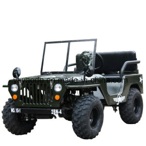 3042e281707 China Ce Assured New Kids 110cc Willys Mini Jeep for Sale - China ...
