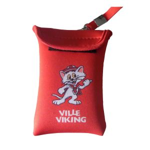 Neoprene Red Printing Logo Mobile Pouch