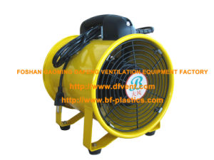 200mm American Plug Yellow Portable Propeller Ventialtor Blower Fan