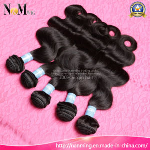 Wholesale Unprocessed Natural Hair Weave Cuticle Remy Indian Human Virgin Hair pictures & photos