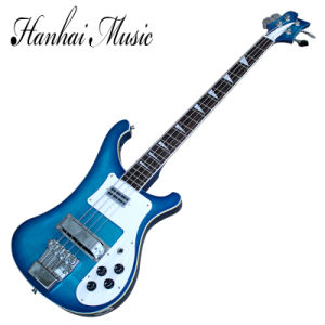 Hanhai Music / Blue Ricken Style 4-String 4003 Electric Bass Guitar pictures & photos