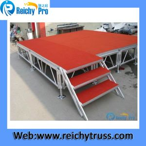 Mobile Stage 1*2m Event Stage Decorations for Festival Decoration Aluminum Stage Platform pictures & photos