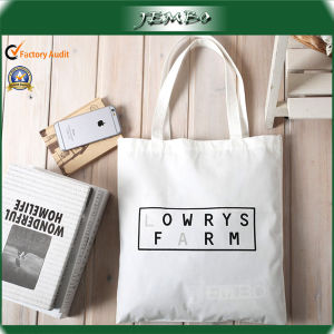 Reusable Natural White Canvas Shopping Bag for Grocery pictures & photos
