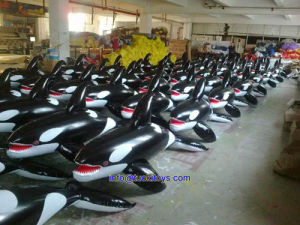 Good Quality Inflatable Dolphin Yacht for Export (TK-045)
