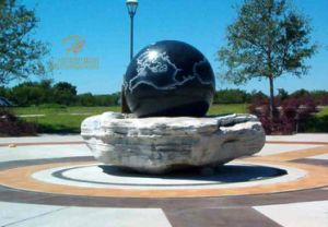 China Garden Decoration Marble Rolling Ball Water Fountain China