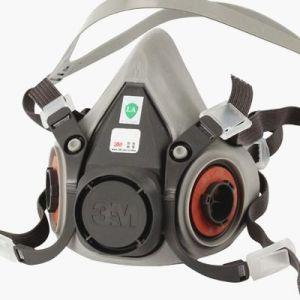 6200 Care Mask 3m Reusable Half Respirator Facepiece Face Skin