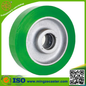 Heavy Duty 60d Solid PU Wheel Caster Industrial pictures & photos