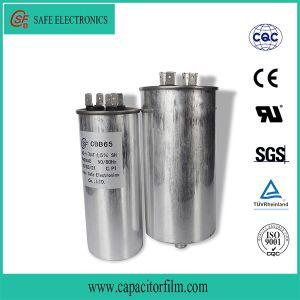 Cbb65 Round Aluminum Case Capacitor