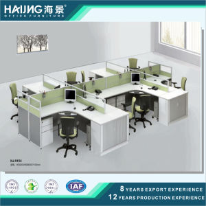 Modern Office Furniture Four Seater Office Table/ Office Partition