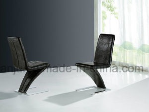 Modern PU Leather Stainless Steel Leisure Chair (B882)