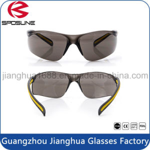 Patented Safety Glasses Shatterproof Eye Protection Rubber Temples Scratch Resistant Lenses for Welding Wookworking pictures & photos
