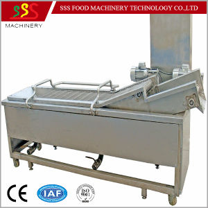 Factory Price Fryer with Oil Filter System Automatic Continuous Fryer 2017