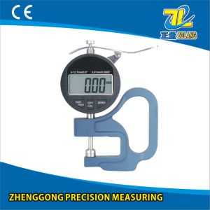 0-12.7/0.01mm Blue Handle Digital Thickness Gauge pictures & photos