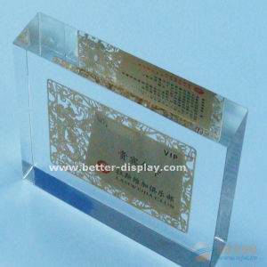 Acrylic Stamp Block Professional Manufacturer pictures & photos
