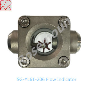 1 Inch Welding Connection Impeller Air Sight Flow Indicator with Spout pictures & photos