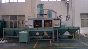 Sand Blasting Machine for Stainless Steel Sheet pictures & photos