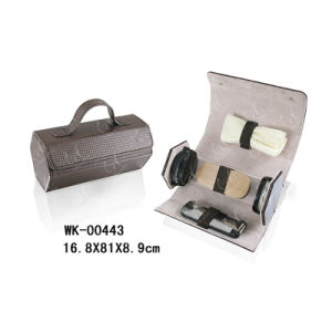PU Leather Shoe Care Kit for Business Man