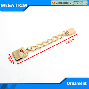 No. 20180 Mega Light Gold Metal Accessory Chain Wholesale Ornament pictures & photos
