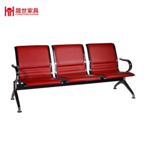 Marvelous High Quality 3 Seat Full Pu Padded Airport Hospital Station Bench Chair Waiting Area Gmtry Best Dining Table And Chair Ideas Images Gmtryco