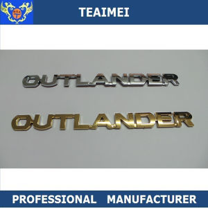 Best Price ABS Car Logo Label Sticker Car Badges for Outlander