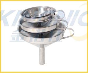 6 Pieces Stainless Steel Funnel Set pictures & photos