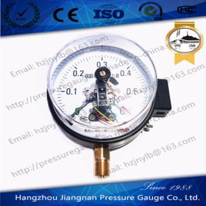 0.6MPa Magnetic Electric Contact Pressure Gauge pictures & photos