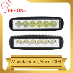 Factory Supply Square 18W LED Work Lights for Truck pictures & photos