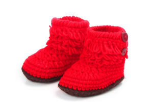 b2bc9337ab01a Wholesale Handmade Crochet Baby Booties Infant Shoes