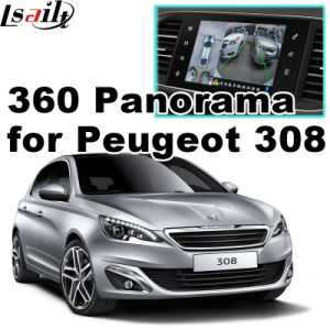 Rear View & 360 Panorama Interface for Peugeot 208 308 508 2008 with Smeg+ Mrn System Lvds RGB Signal Input Cast Screen pictures & photos