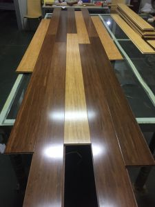 Carbonized Vertical/Horizontal Strand Woven Bamboo Flooring (bamboo flooring) pictures & photos
