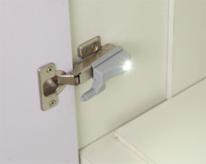 Smart LED Hinge Light with 123A Battery