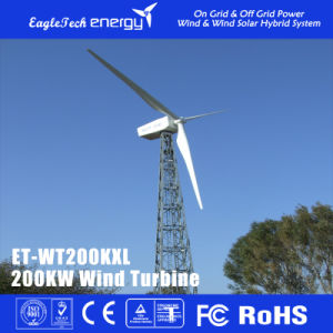 200kw Wind Turbine Wind Generator Wind Power System Windmill