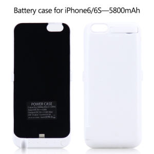 Portable Charger Rechargeable External Power Battery Case for iPhone 7/7plus pictures & photos