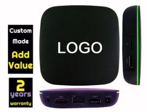 Custom Made T1 Android4.4 TV Box Allwinner H2 Quad Core 1GB 8GB 1500+ Live TV Channels 1000+ VOD IPTV pictures & photos