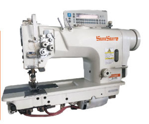 High Speed Direct Drive Double Needle Sewing Machine pictures & photos