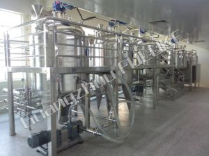 200L, 500L Stainless Steel Liquid Soap Tomato Paste Mixing Tank pictures & photos