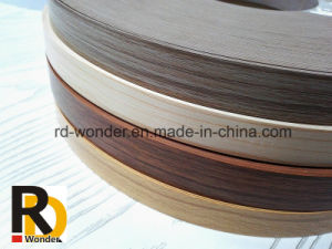 Furniture Wood Grain Decorated PVC Edge Banding