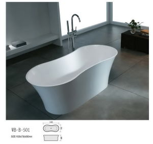 Artificial Stone Bathtub (WB-B-S01)