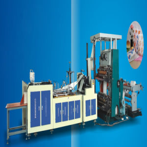 Automatic Paper Bag Making Machine with Printing Press pictures & photos