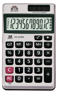 Pocket Calculator (SX-320PK)