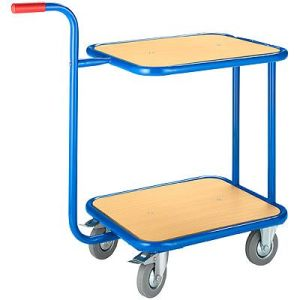 Removable Steel Frame Trolley with Double Platforms (882003)