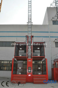 High Quality & Efficiency Rack and Pinion Lifter / Hoist with Counter Weight pictures & photos
