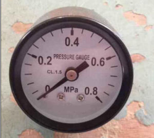 Iron Case Pressure Gauge pictures & photos