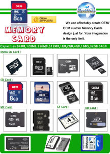 Cell Phone Micro SD Memory Card