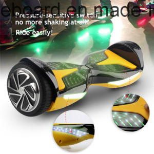 Electric Scooter 2 Wheels Electrical Hoverboard with Inductive LED Lights pictures & photos