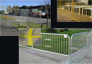 Galvanized PVC Coated Temporary Fence